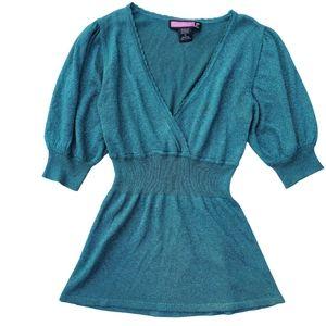 V-neck babydoll blouse - 🚨 READ NOTE